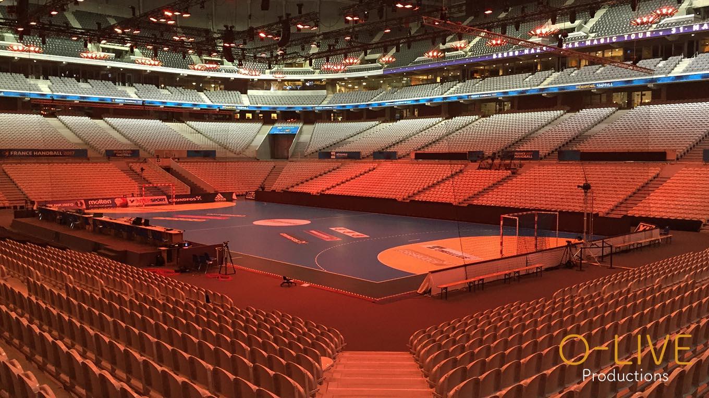 événementiel stade pierre mauroy soirée concert live DJ musique handball mondial Lille Backstage Arena