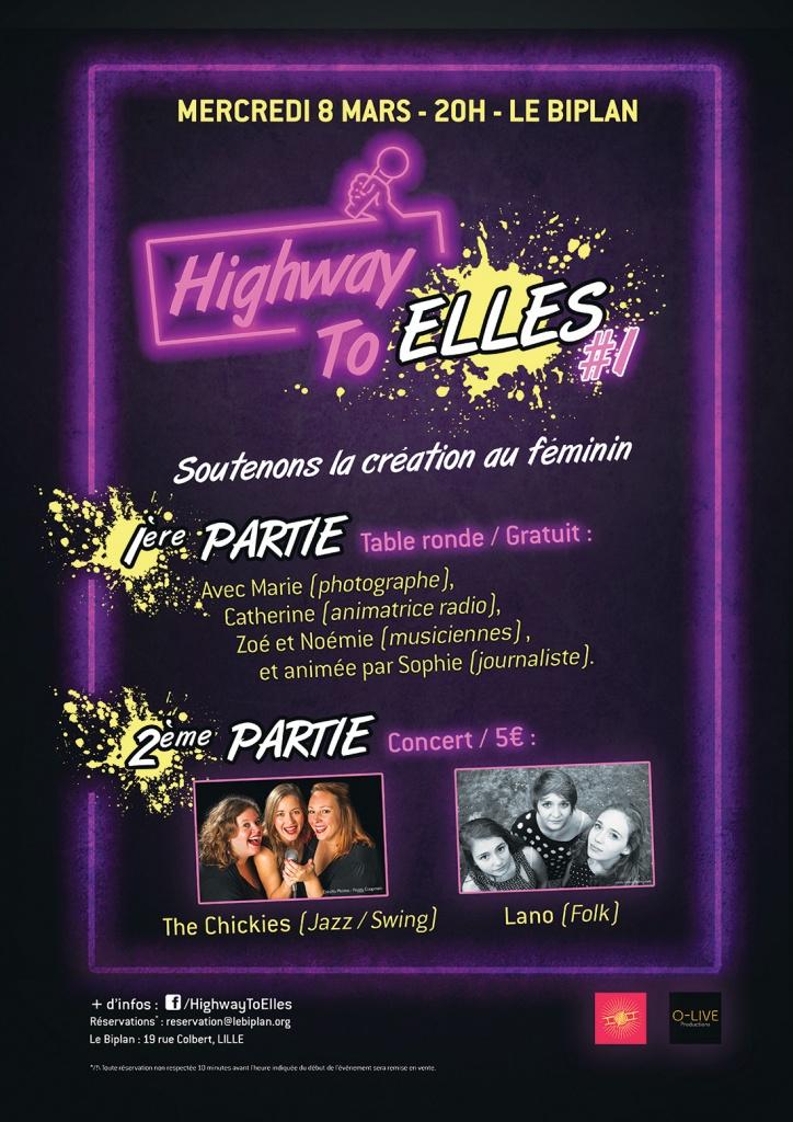 Highway To Elles femme femmes féminisme féministe égalité homme