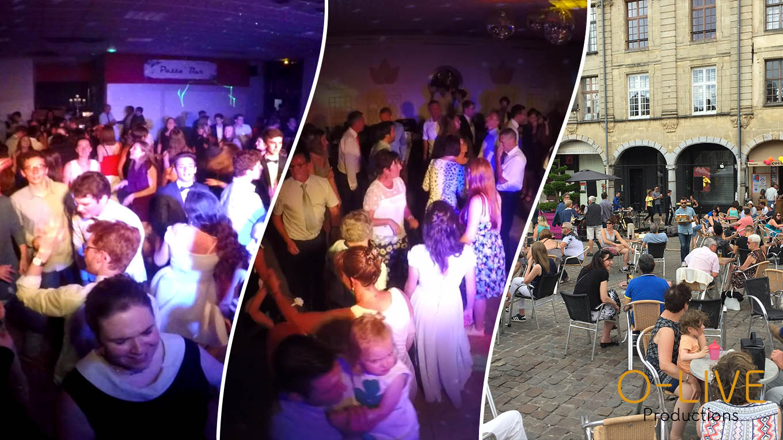 O-LIVE Productions événement event mariage concert lille prestation production événementiel