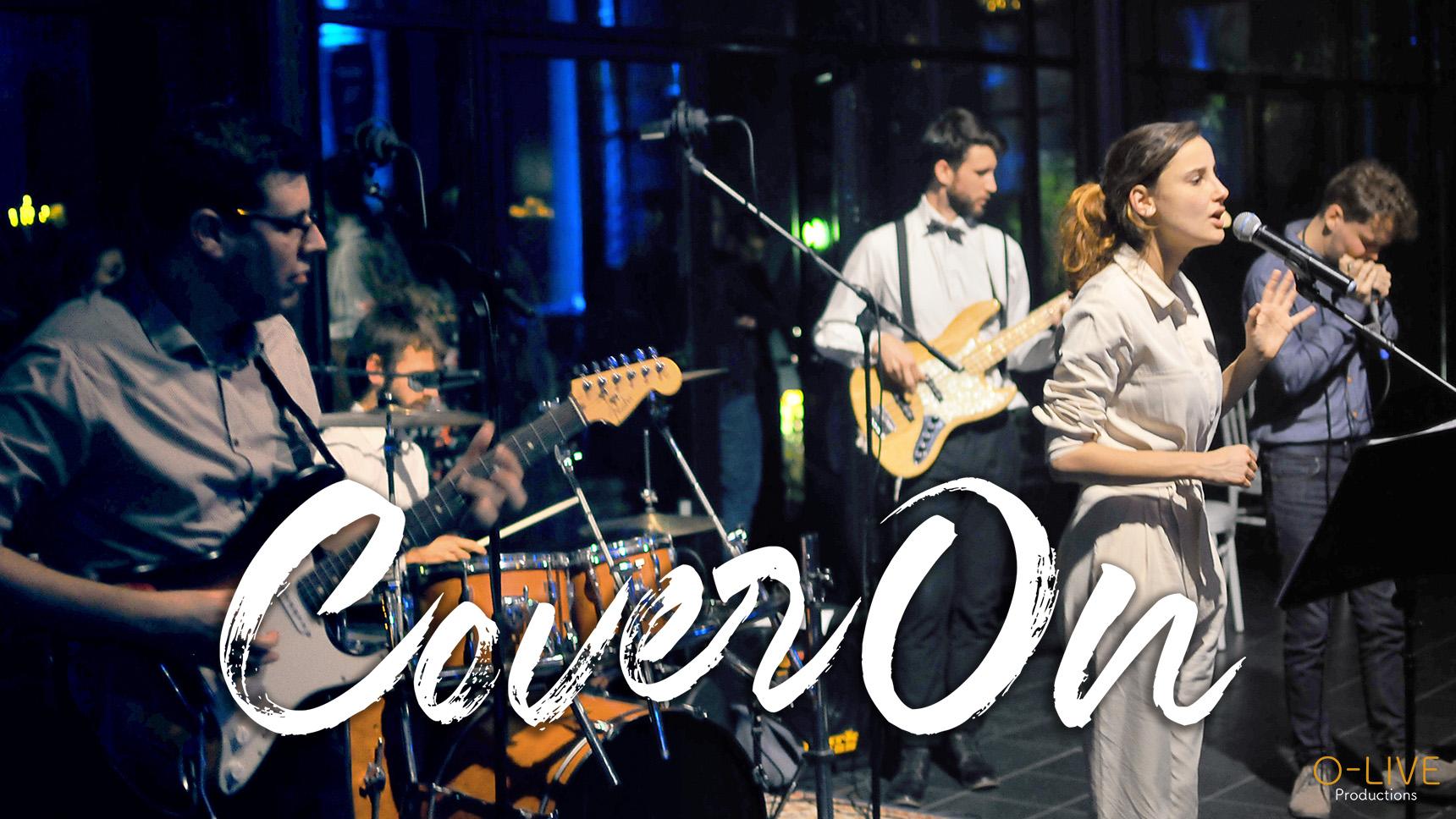CoverOn reprises groupe band musique music pop rock disco electro slow